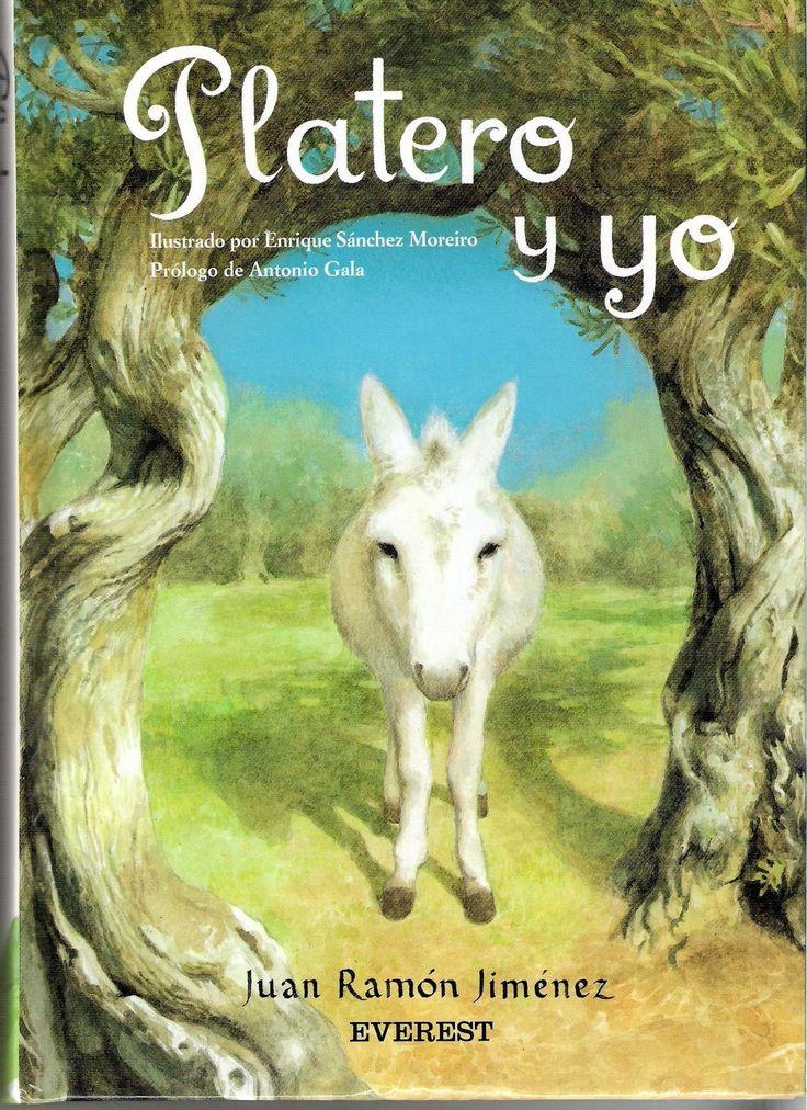 Platero es un burro pequeño, peludo, suave; tan blando por fuera que se diría todo de algodón, que no lleva huesos. Come de todo y los del pueblo dicen que tiene acero.