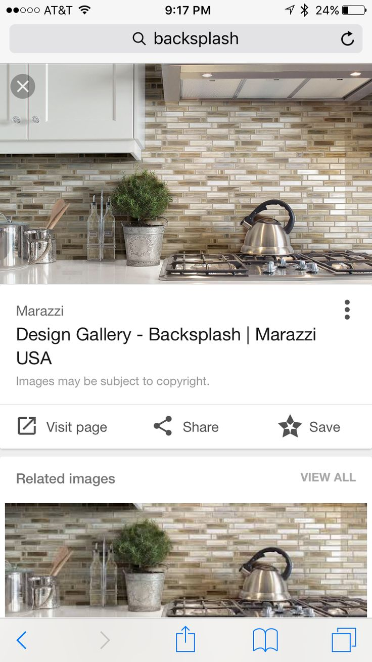 15 Best Backsplash Images On Pinterest | Dream Kitchens, Kitchen .