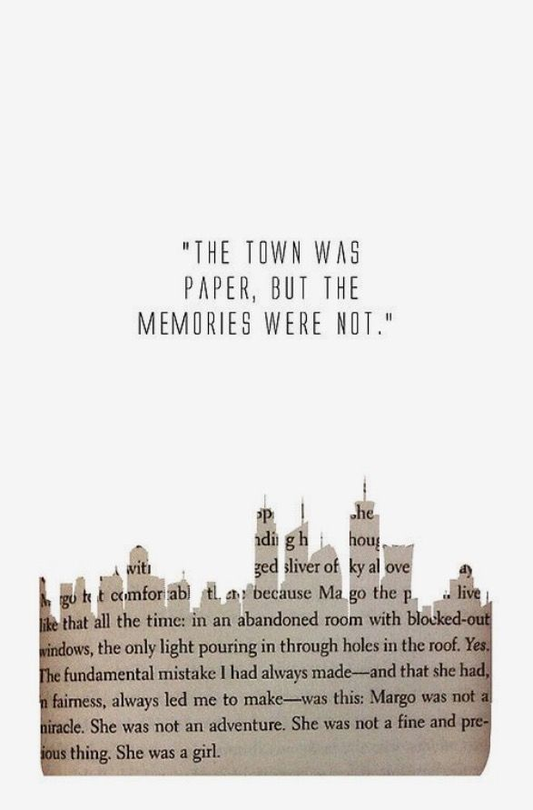 #PaperTowns