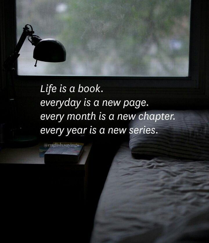 Life is a book. ..L.Loe