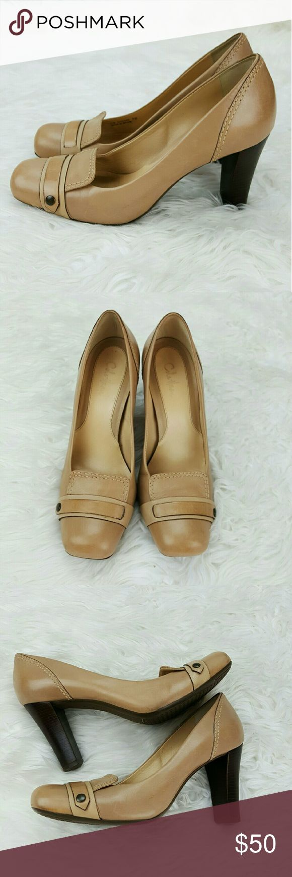 """SALE Taupe Cole Haan Heels Fabulous Taupe Cole Haan Heels with a 3"""" Chunky Heel Very Comfortable and Super Stylish in Great Condition Perfect for Fall/ Winter Cole Haan Shoes Heels"""