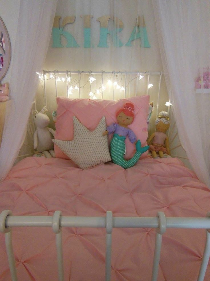 Toddler Girl Be With Ikea Bed Frame And Target Bedding