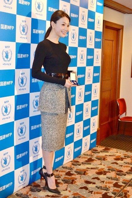 知花くらら、日本人初の国連WFP大使に「情熱をもって活動を伝えていきたい」