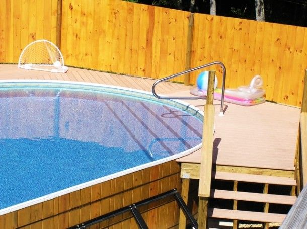 52 best images about pools design ideas on pinterest for Above ground pool decks indianapolis