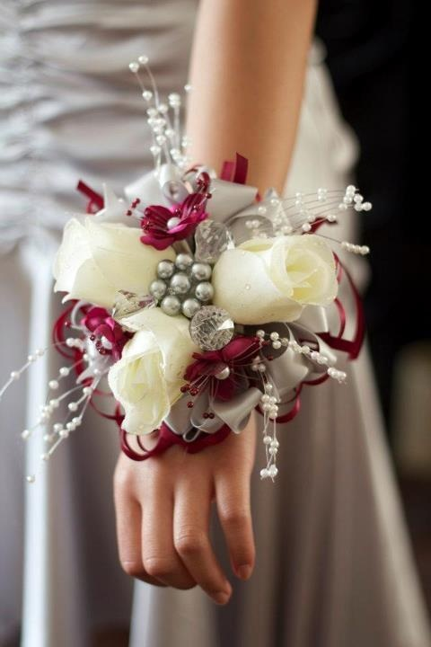 Corsage I made for my Son's date for Senior Prom