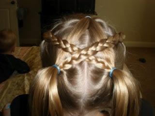 Girl Hairdos & Ideas: pig tails