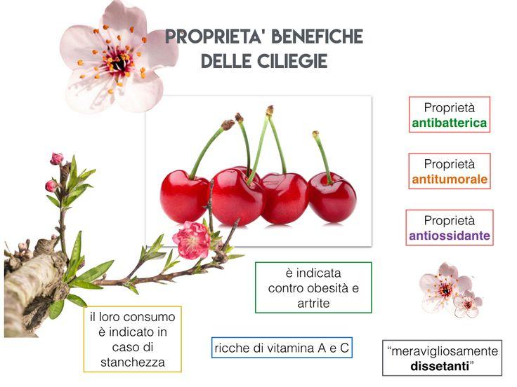 Una ciliegia tira l'altra... - proprietà benefiche delle ciliegie