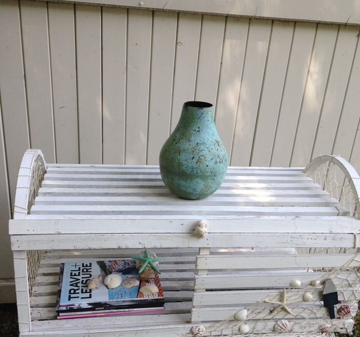 8 best images about crab trap tables on pinterest repurposed chic and lobsters - Trap decor ...