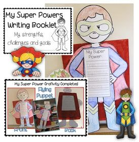Super Powers Craftivity Learning Goals Clever Classroom blog