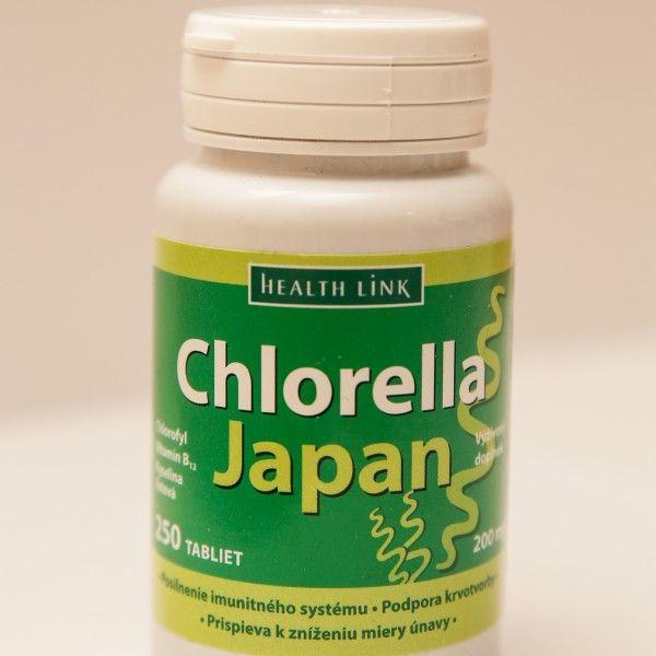 Chlorella Japan 250 tabliet