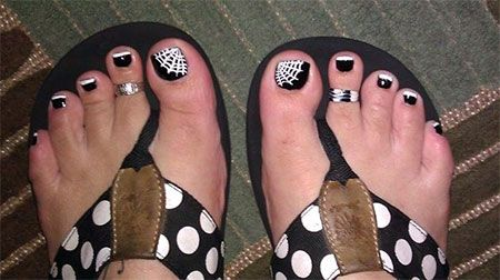 Halloween Toenail Ideas | 10 Unique Halloween Toe Nail Art Designs Ideas Trends Stickers 2014 10 ...