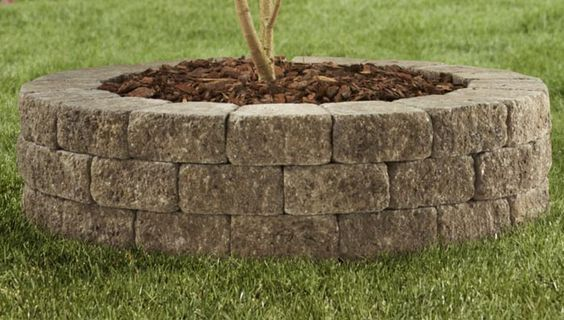 Build A Stone Raised Planting Bed Building A Raised