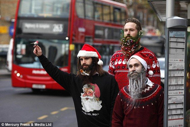 Hipster Beard Baubles to help make all of your hipster friend's beards more festive.