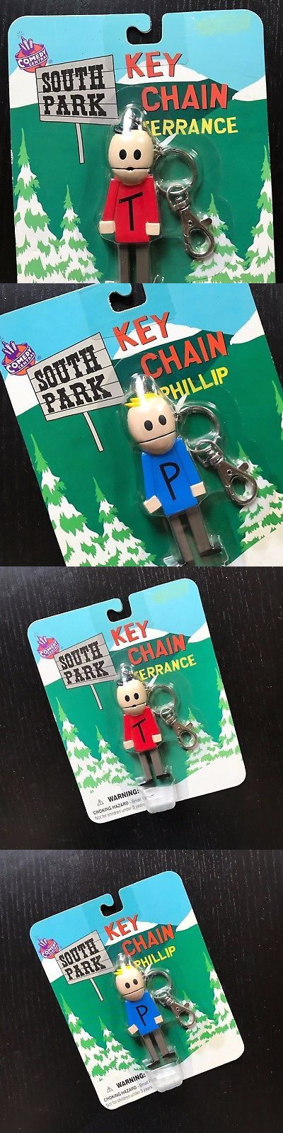 South Park 20918: South Park Keychain 1998 New Unopened Terrance And Phillip Comedy Central Nib Rare -> BUY IT NOW ONLY: $59.99 on eBay!