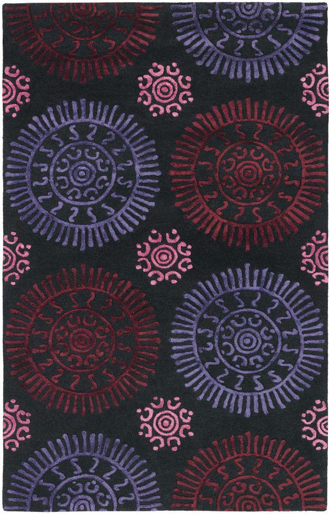 Sundial Rug, Violet, $589.00