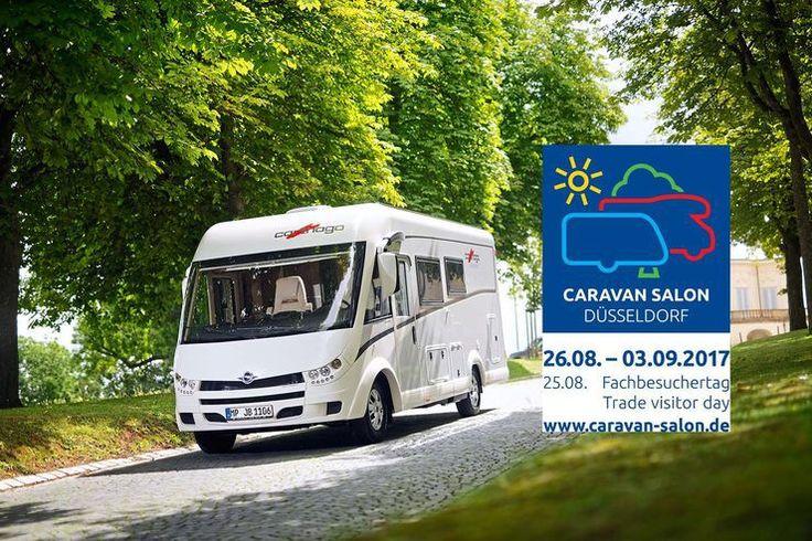 Caravan Salon 2017 Viele Besucher reisen mit dem eigenen Reisemobil oder Caravan an. Während der Messe stehen rund 30.000 Freizeitfahrzeuge auf dem Caravan Center der Messe Düsseldorf. Dieser Stellplatz der Superlative zählt bis zu 70.000 Übernachtungen während ...