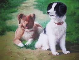 「犬 油絵の具」の画像検索結果