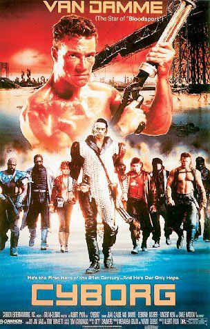 Cyborg  Movie Poster Jean Claude Van Damme Size 27 x 40 *** For more information, visit image link.