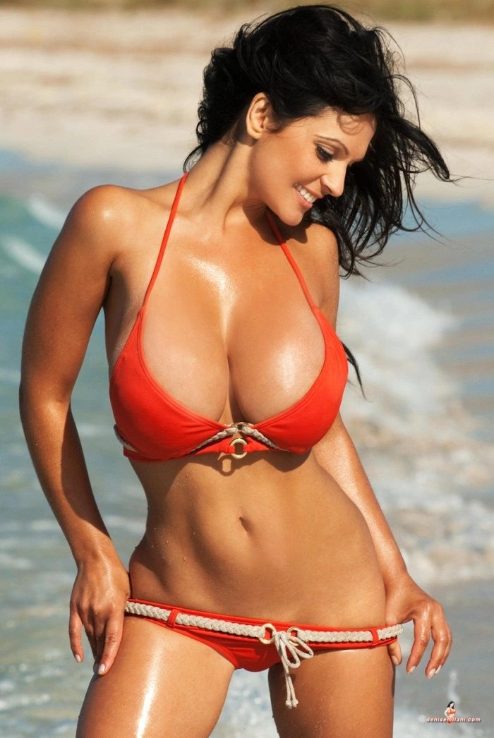 Denise Milani is a Czech-American model.