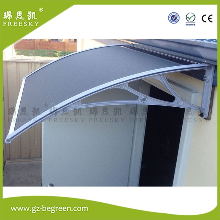 YP100300 100x200cm 100x300cm 100x600cm Door Canopy Awning Rain Shelter Front Back Porch Shade Patio Roof Cover