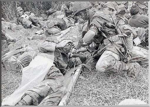 With the logistic and military help of the Chinese, the Viet Minh had moved 50,000 regular troops into the hills surrounding the valley, tot...