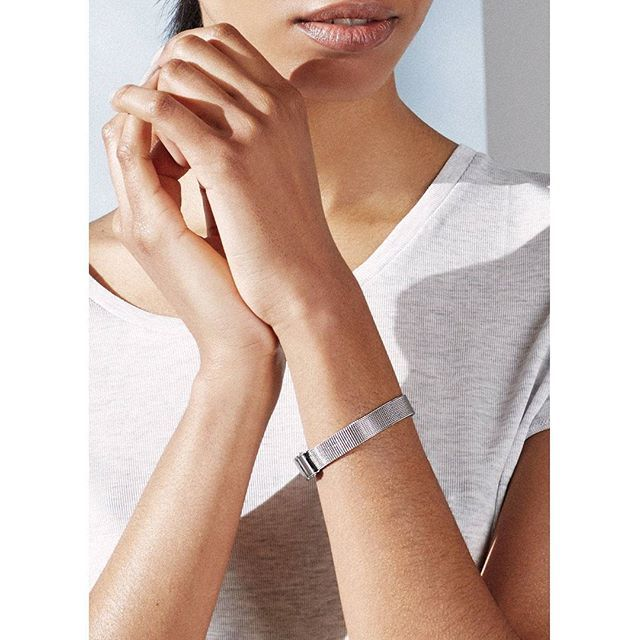 The new bracelet N06, in simple and sophisticated mesh. Perfect to combine with a watch or our other bracelets! Shop at link in bio! #triwa