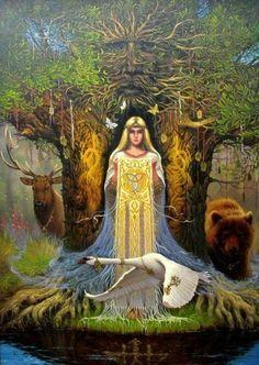 Slavic Mother Earth Goddess