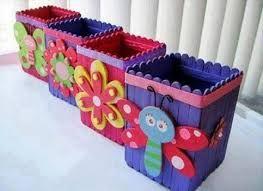 Resultado de imagen para decorate box tongue depressors