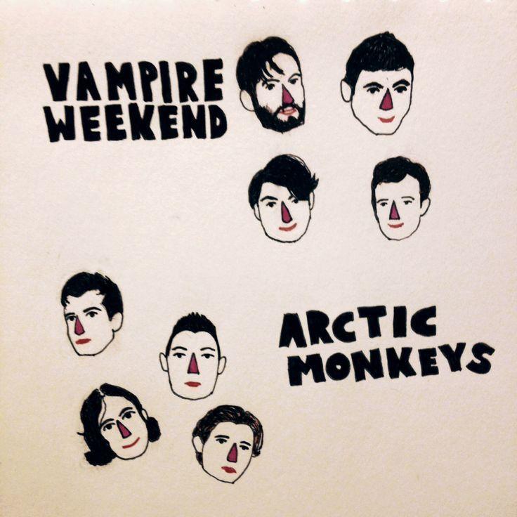 Vampire Weekend - Arctic Monkeys