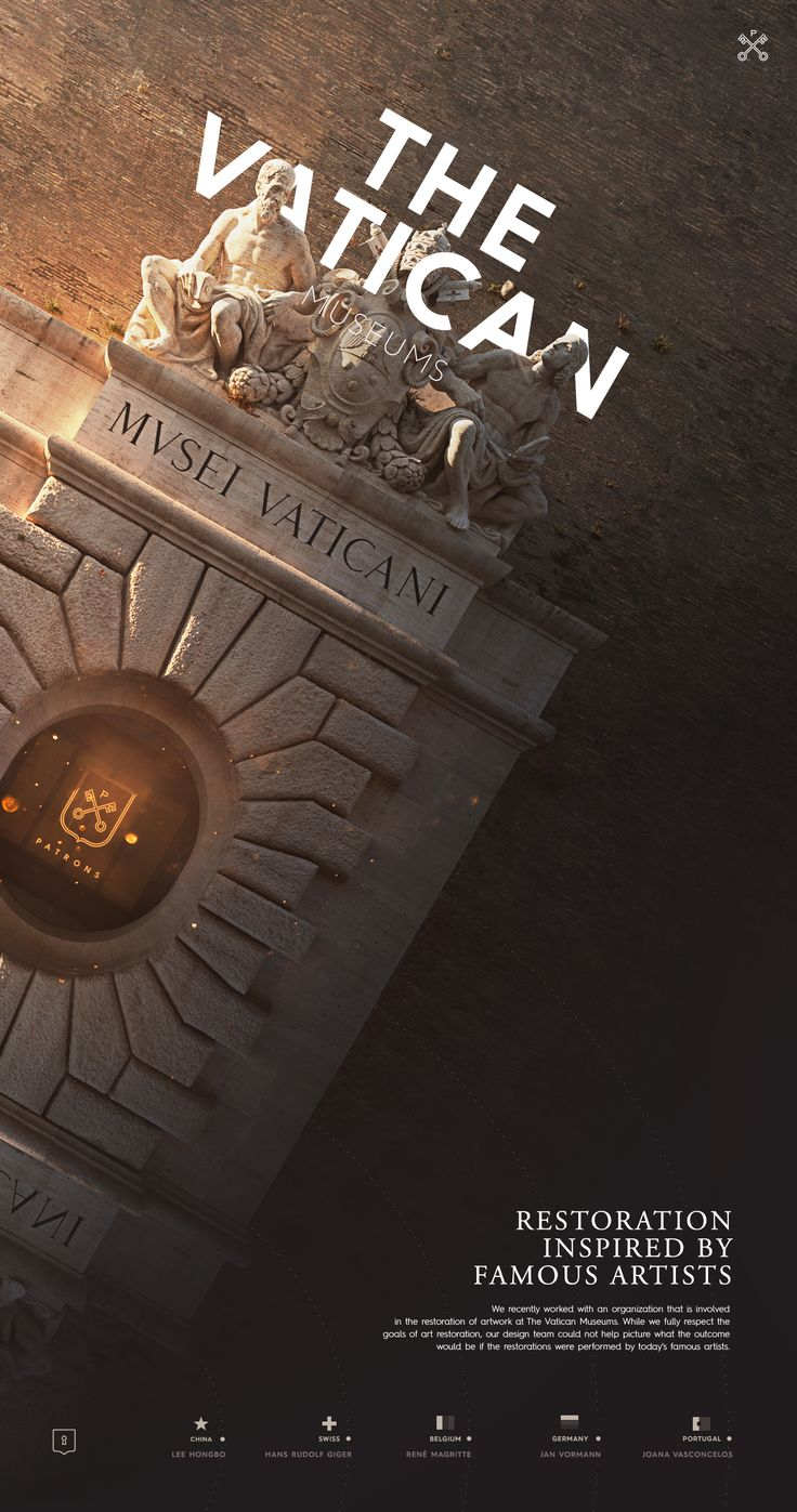 The Vatican Museums on Behance
