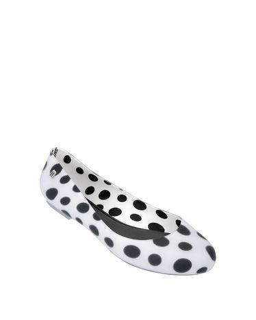 Polka Dot Flats.