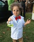 Homemade Mad Scientist Costume - 2012 Halloween Costume Contest