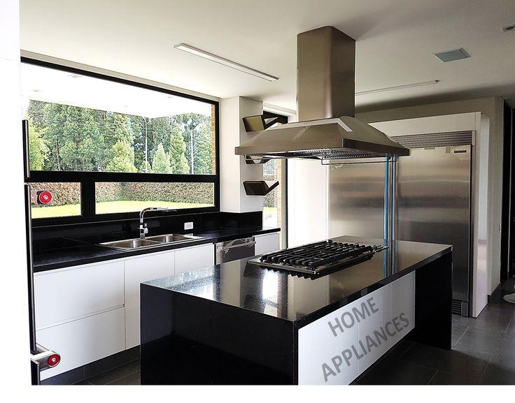 cocinas modernas #cocinas #kitchen #design #isla #Home #homeappliances
