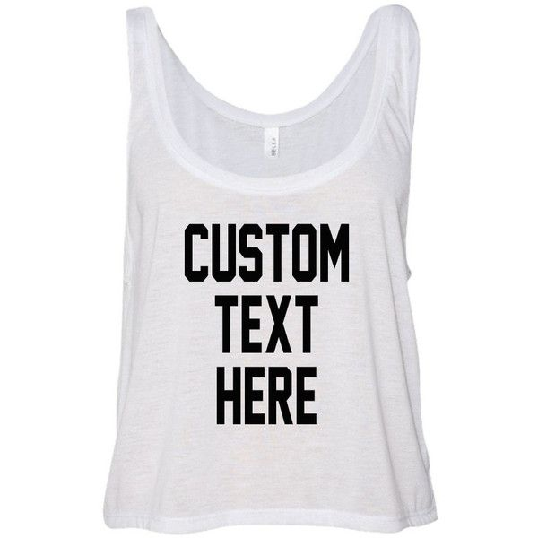 Custom Text Flowy Many Colors Tank Top Flowy Boxy Women and Teen Crop... ($23) ❤ liked on Polyvore featuring tops, black, women's clothing, stripe top, striped crop tops, cropped tank top, stripe crop top and cut-out crop tops