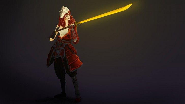 Juggernaut Dota 2 Girl Version Sword HD Wallpaper 1920×1080
