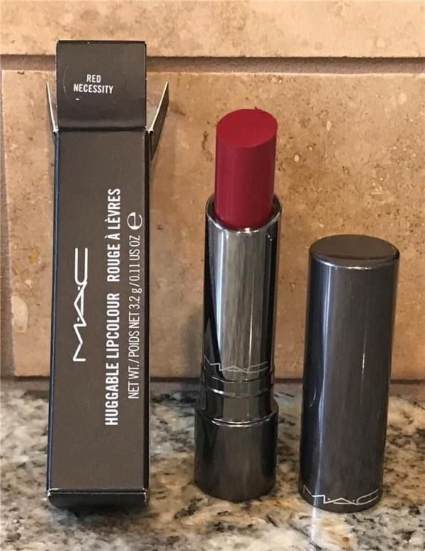 Red MAC lipstick bottle, Lipstick MAC Cosmetics Red Color
