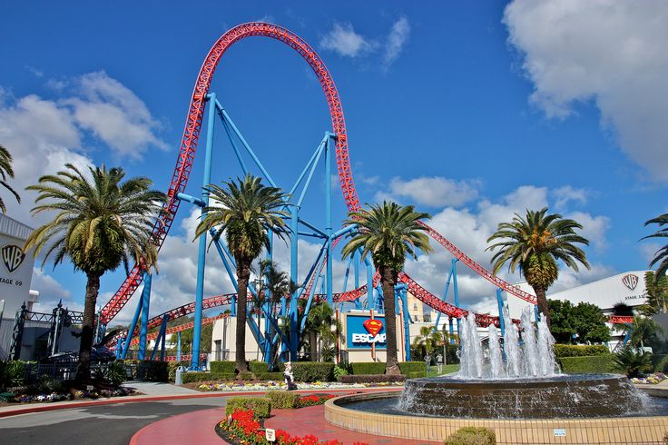 We promise to find you a comfy and peaceful bed to sleep in after riding on the Superman Escape roller coaster in the Warner Bros. Movie World #Australia! We can help you find the best #getaway #hotels on the #GoldCoast!