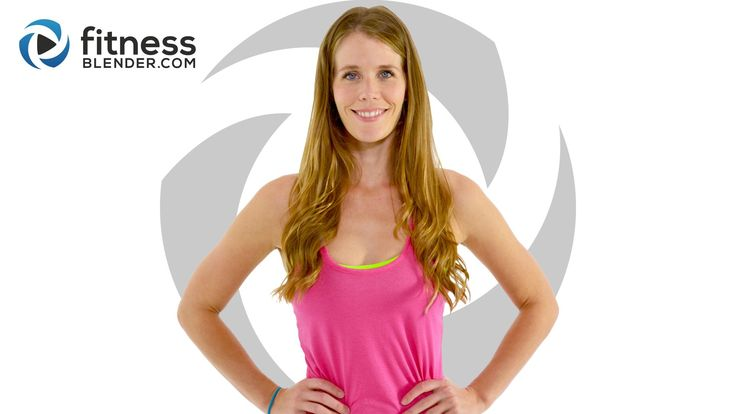 30 Minute No Equipment HIIT Cardio workout video - warm up & cool down are included and low impact modifications are provided all the way through.
