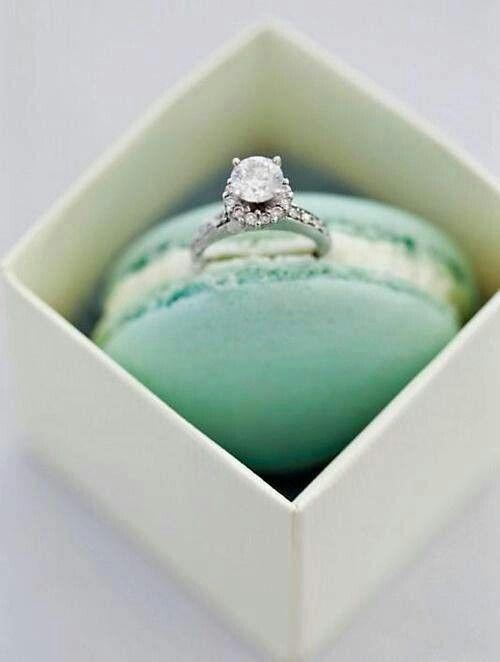 Demande en mariage gourmande... ...