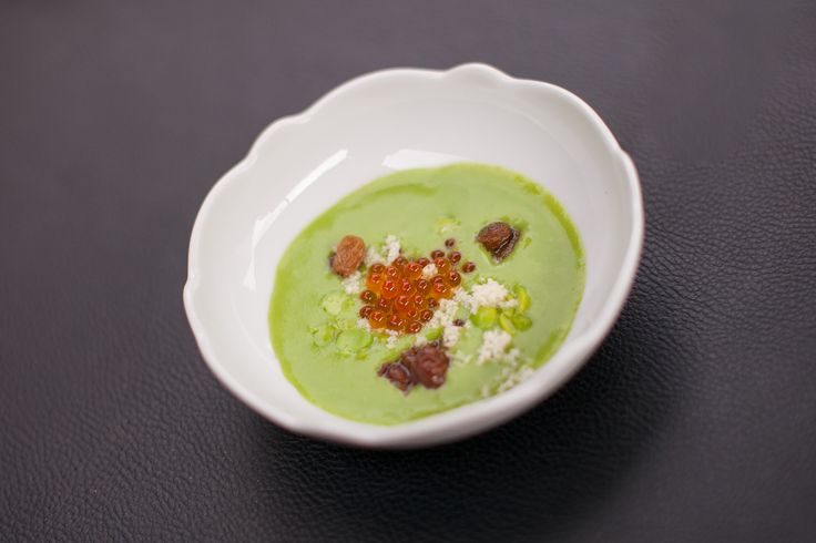 """One of the creations by Chef Oldani, exclusively for the S.Pellegrino Restaurant at """"Live From Milan"""""""