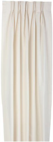 Fireside Pinch Pleated 144-Inch-by-84-Inch Thermal Insulated Drapes, Natural by Ellis Curtain. $199.99. Pregatherd pleated curtain creates a updated and stylish look to any room; Easy to hang. 100-Percent heavyweight cotton face for smoother draping effect; 5-inch bottom hem. Measurements 144-inch overall width (both 72-inch panels combined) 84-inch overall length. Foam back thermal insulating saves energy and money; Improved light blocking. Made in the USA; Dry clean recommend...