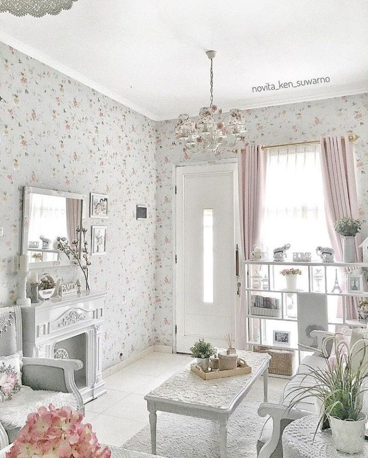 10+ Amazing Shabby Chic Living Room Wall Decor
