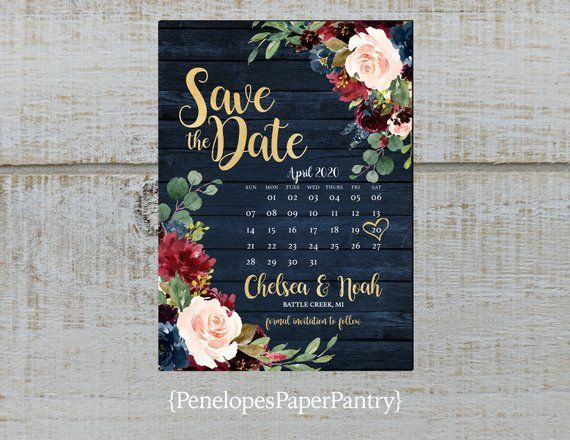 Save  the Date Wedding Invitation  White Paper Rose Magnet  With Personalized Gray Print and White Corrugated Mailer