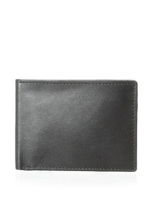 53% OFF Joseph Abboud Men's Glove Leather Slim Tin Passcase (Black)