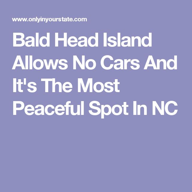 Bald Head Island Allows No Cars And It's The Most Peaceful Spot In NC