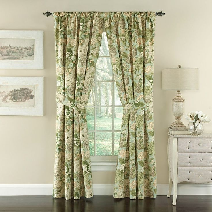 25+ Best Ideas About Waverly Curtains On Pinterest