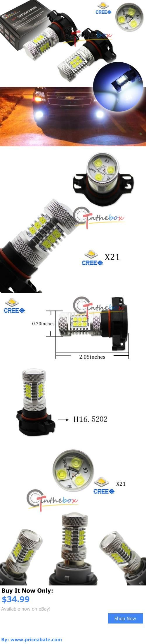 Motors Parts And Accessories: (2) 8K Blue 5202 H16 High Power 21-Cree Led Bulbs Fog Daytime Running Lights Drl BUY IT NOW ONLY: $34.99 #priceabateMotorsPartsAndAccessories OR #priceabate