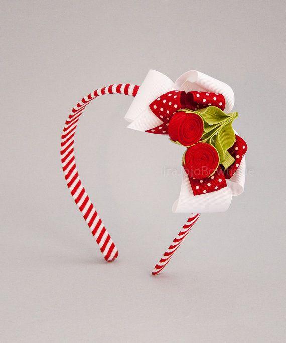 Delicious Cherry Headband por IraJoJoBowtique en Etsy, €12.00