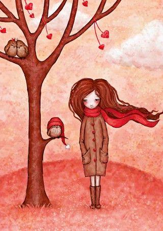 Саша Салмина/Sasha Salmina - Poholodalo (Getting Colder)/ Фотофабрика - товары для посткроссинга: почтовые открытки, штампы, альбомы - ФотоФабрика