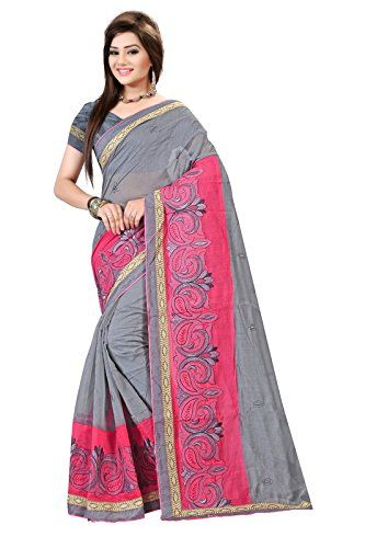 Here Is The Fancy Temting Saree By Indian Fashionista. Ideal For Parties And Festivals. Our Sarees Are Made And Stitched Using High Grade Fabrics And Yarns Under The Strict Surveillance Of Our Well-Versed Executives.